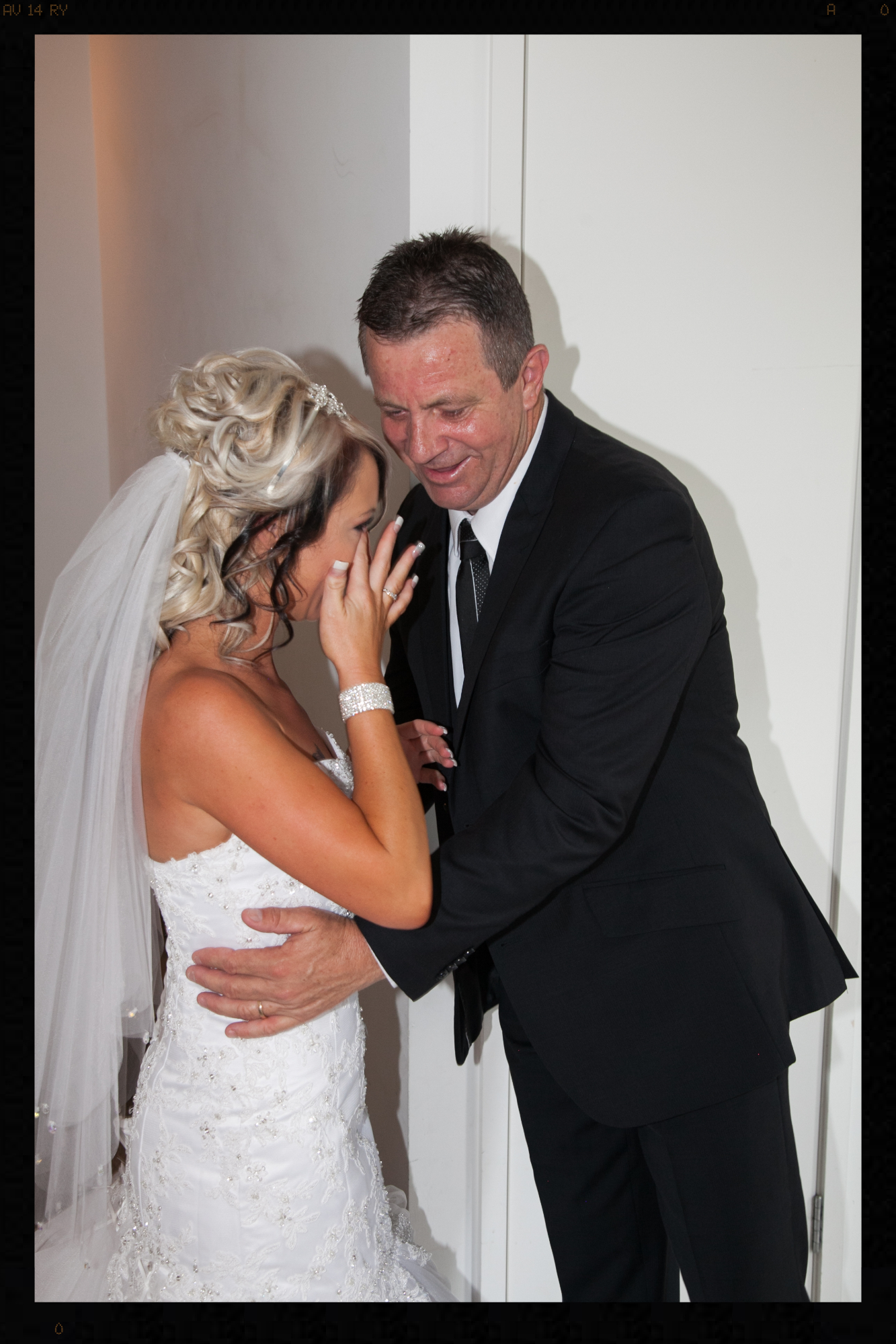 Father of the bride sharing a tear just before the Ceremony... #ForeverBeyondDecorWeddingandEventDecorators