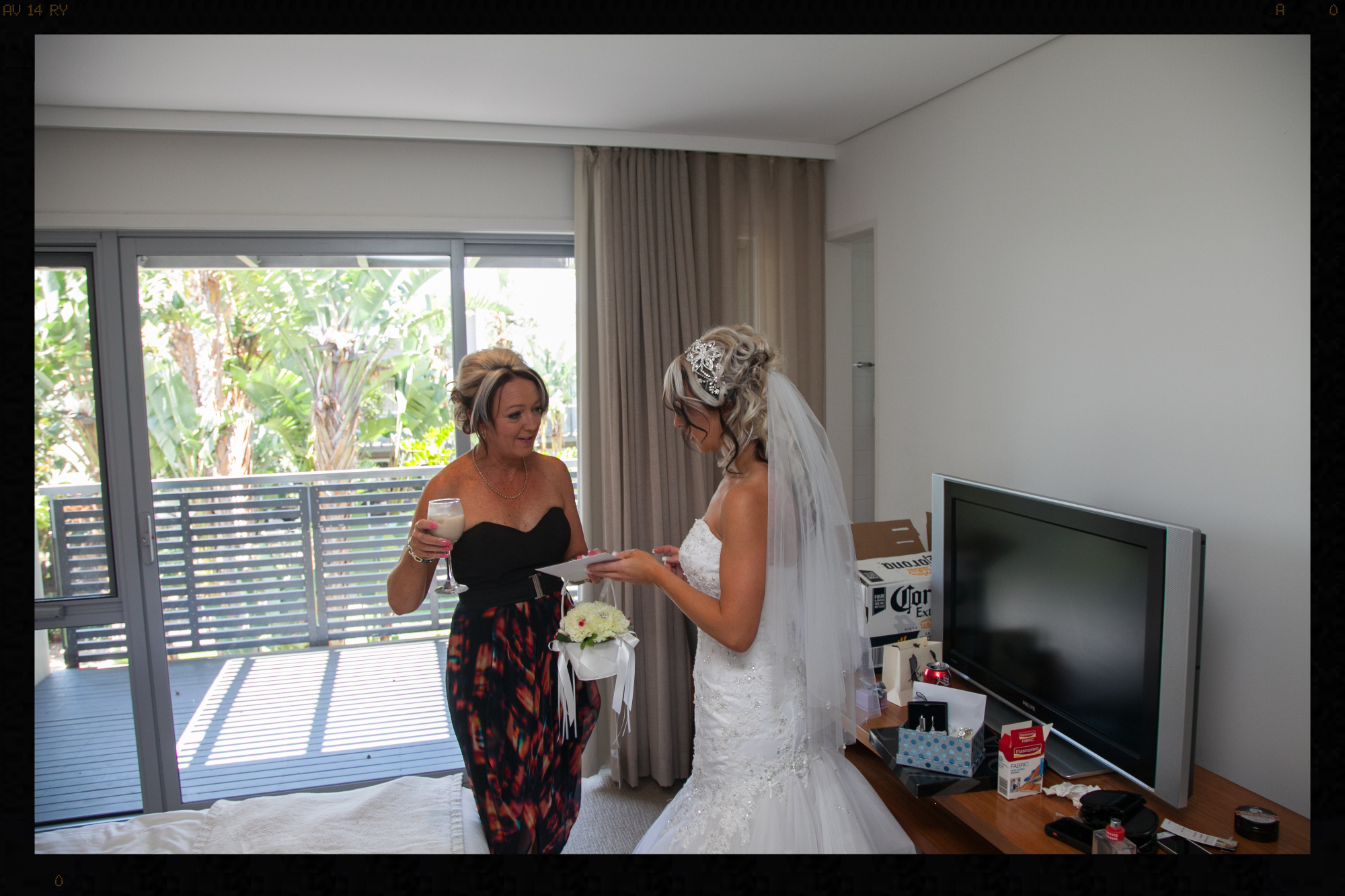 Mother of the bride a very special moment. Forever & Beyond Decor Central Coast Weddings